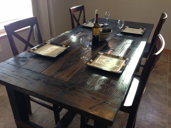 Attractive Farm Table To Build