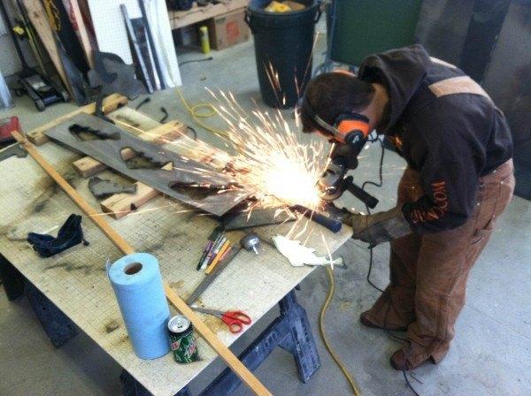 grinding plasma art