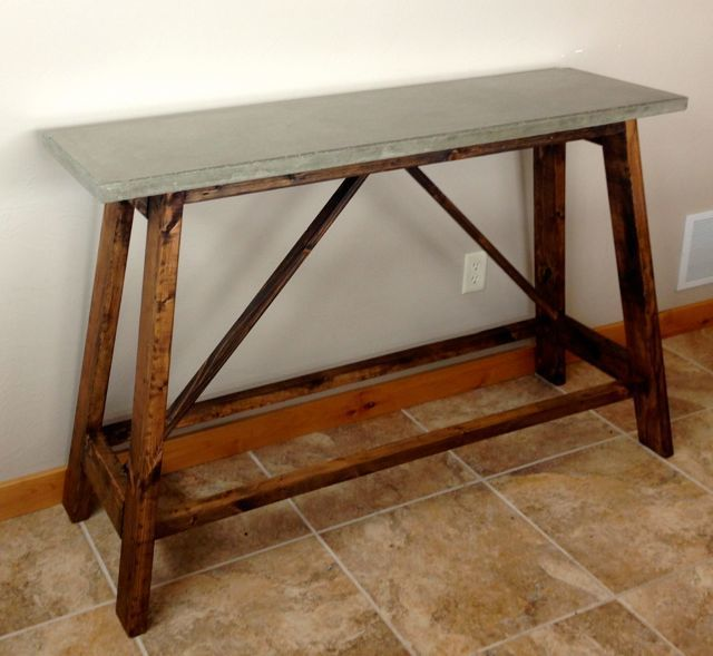 How to Build a Concrete Table