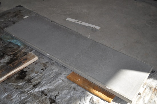 concrete-counter-out-of-mold