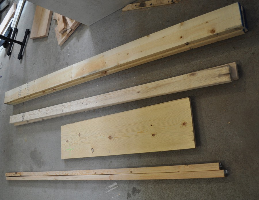 Lumber for Coffee Table