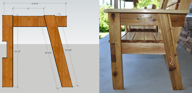 Amazing Free Patio Chair Plans How To Build A Double Chair Bench Short Links Chair Design For Home Short Linksinfo