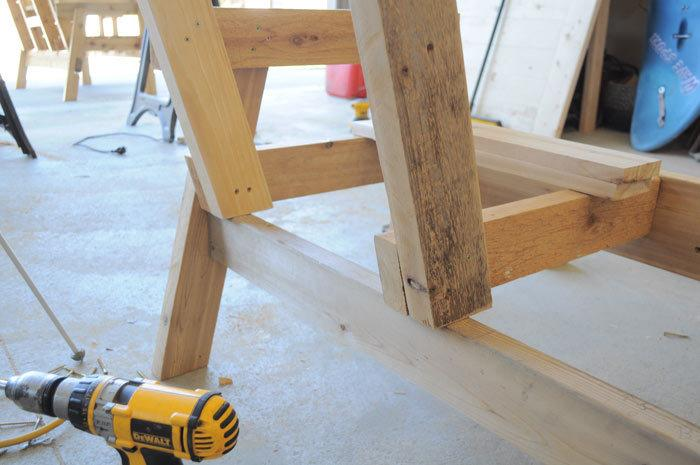 Remarkable Free Patio Chair Plans How To Build A Double Chair Bench Caraccident5 Cool Chair Designs And Ideas Caraccident5Info