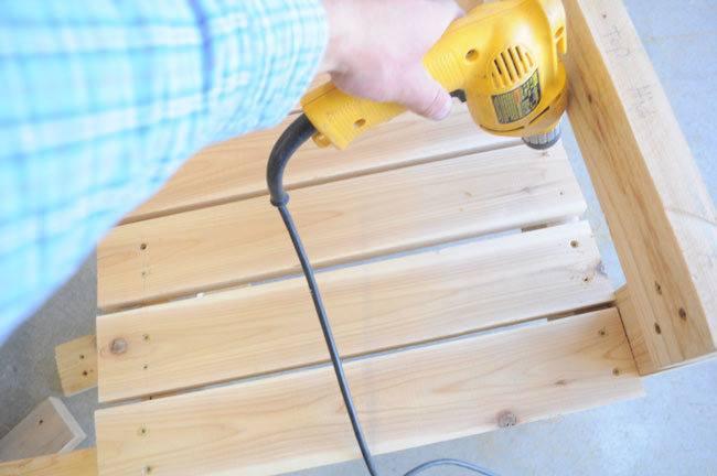 drilling-wood-slats