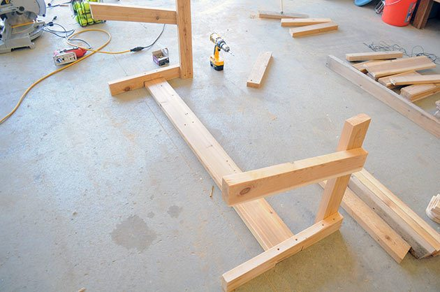 Free patio chair plans how to build a double chair bench for Patio plans free