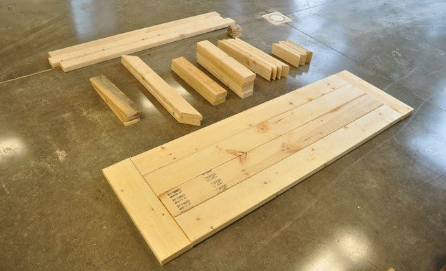 Lumber To Build A Desk