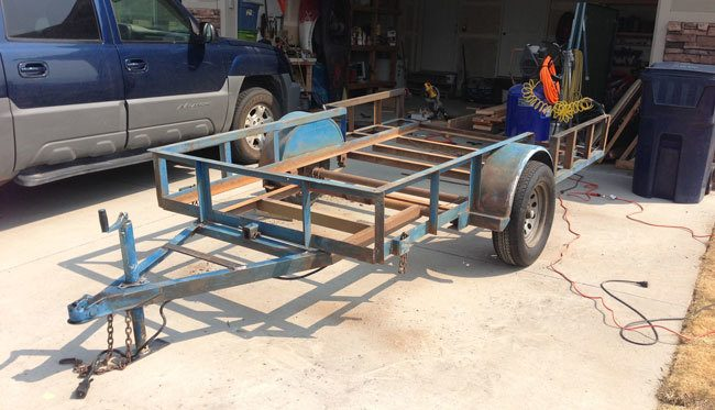 How to fix up an old trailer and make it look brand new!