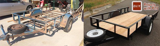How To Fix Up An Old Trailer And Make It Look Brand New