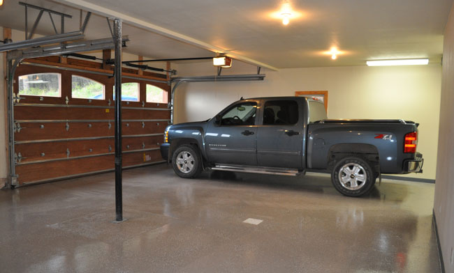 Diy epoxy garage floor tutorial how to make your garage for Diy garage cost