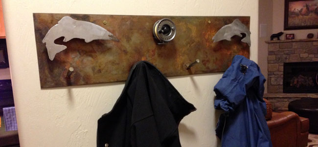 Fish-Coat-Hanger