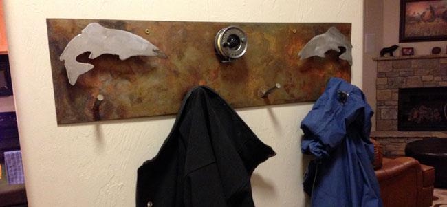 Fish-Coat-Hanger