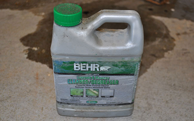 Remove paint from garage floor thefloors co for How to clean off spray paint on concrete