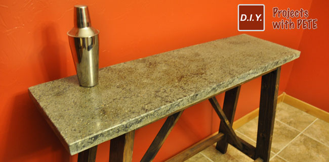 Concrete Tables Get Creative The Possibilities Are Limitless - Stained concrete table