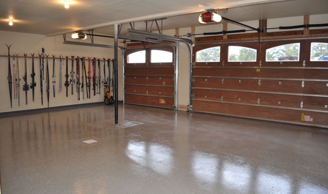 How to make garage floor epoxy home desain 2018 diy epoxy garage floor tutorial how to make your look solutioingenieria Image collections