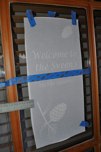 How To Make Etched Glass Vinyl Designs For Your Windows