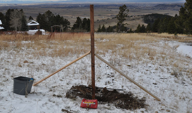 how-to-install-a-4x4-sign-post