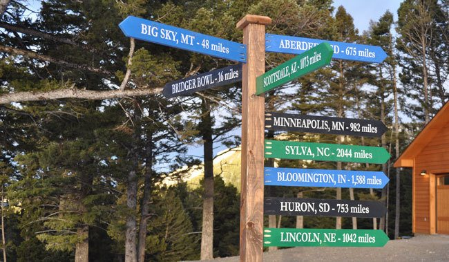 how-to-make-a-directional-sign-post