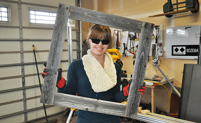 How to Make a Barnwood Picture Frame