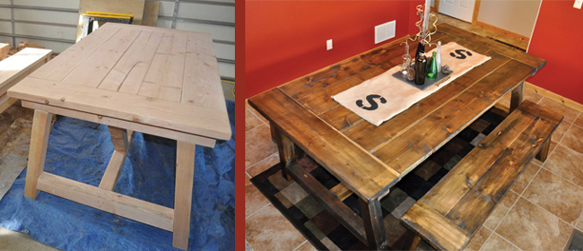How to Build a Farmhouse Table : farmhouse table instructions from www.diypete.com size 650 x 280 jpeg 168kB