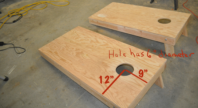how-to-drill-a-cornhole-board