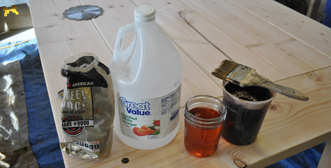 how-to-finish-a-table-with-steel-wool-and-vinegar