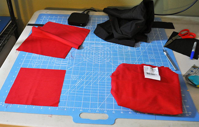 Sewing Materials for Cornhole Toss Bean Bags