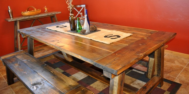 How to Build a 4×4 Farmhouse Table