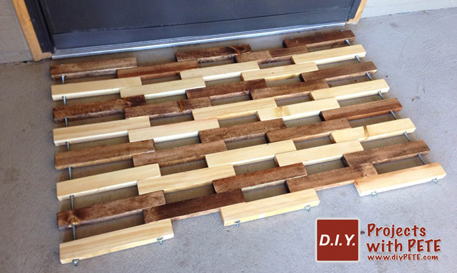 How To Make A Wooden Floor Mat Free Plans