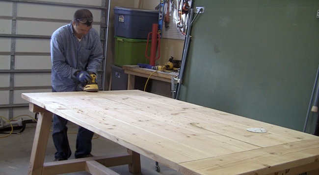 pete-sveen-sanding-farm-table