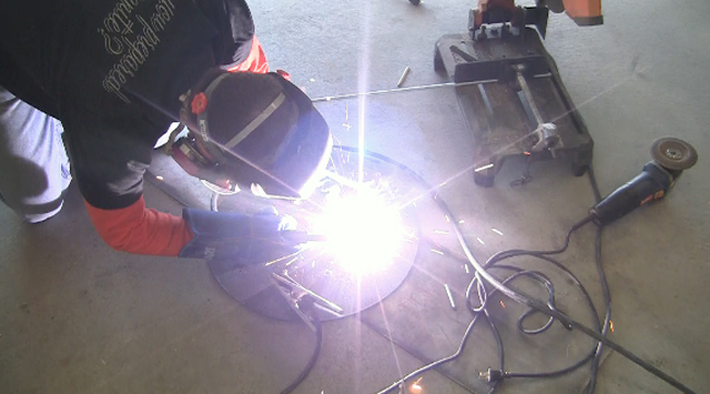 DIY PETE welding