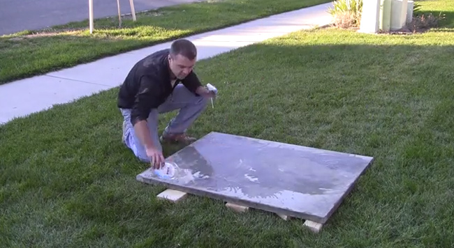 acid-staining-concrete-table