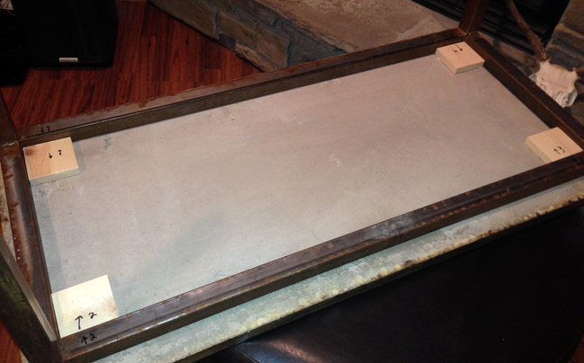 Terrific How To Make A Concrete Coffee Table With A Trowel Finish Pabps2019 Chair Design Images Pabps2019Com
