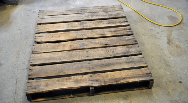 pallet for diy projects