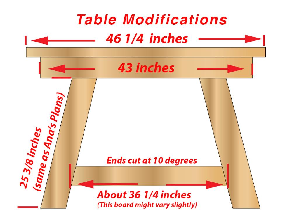 Super How To Build A Farmhouse Table Machost Co Dining Chair Design Ideas Machostcouk