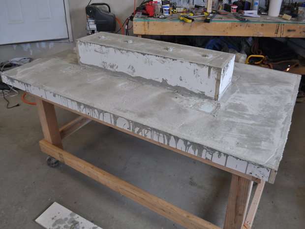 5 Remove The Mold And Flip Table