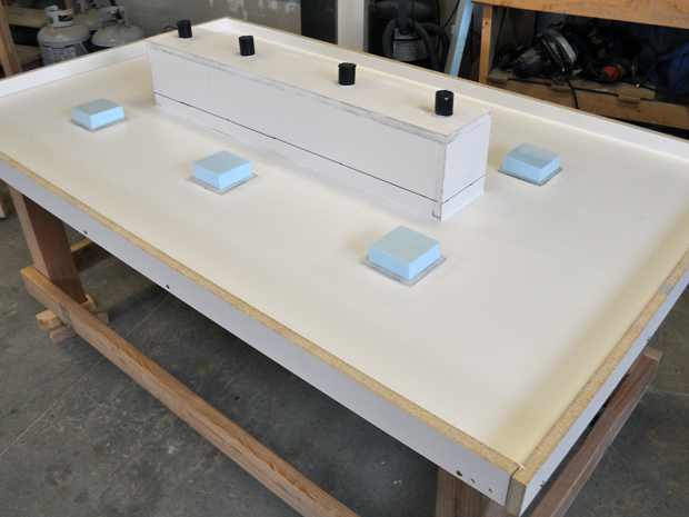 Concrete table Mold for LED Table