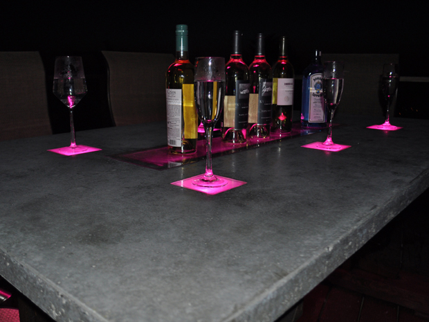LED Concrete Table