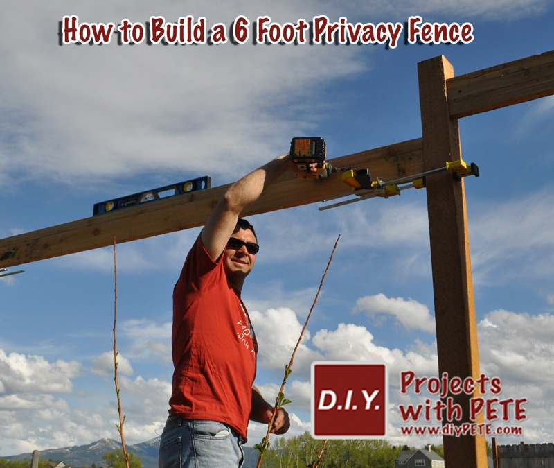 How To Build A 6 Foot Privacy Fence