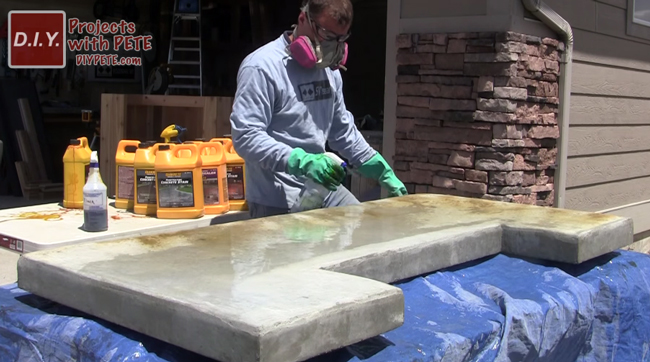 acid-staining-a-patio-bar