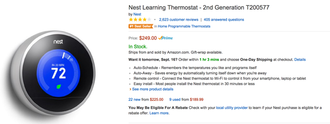 Best Nest Thermostat Review