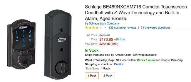 Schlage Camelot Lock Review