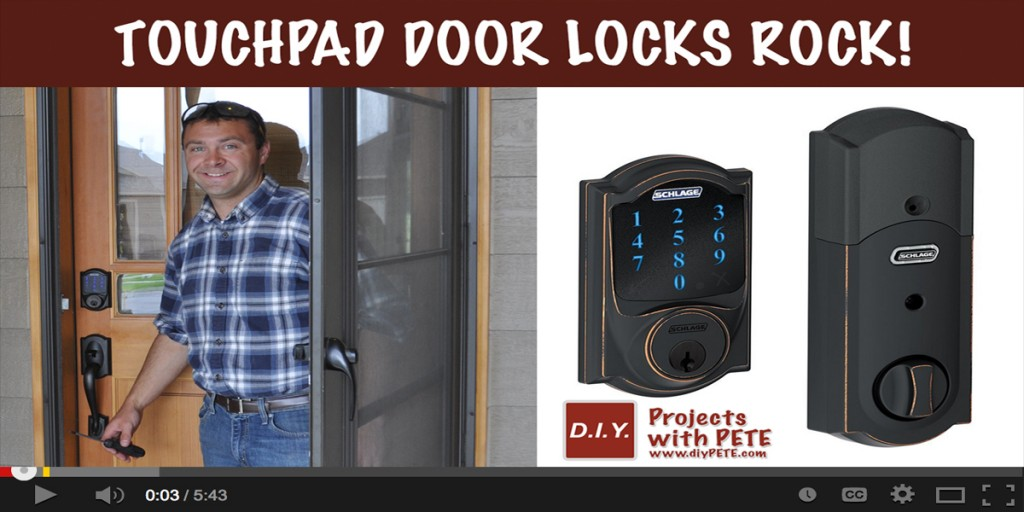 Touchpad Door Locks Rock