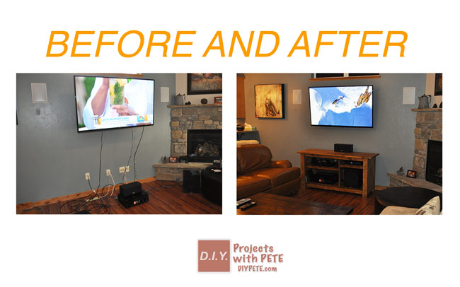 how to hide tv wires rh diypete com put tv cables behind wall tv wires behind wall kit