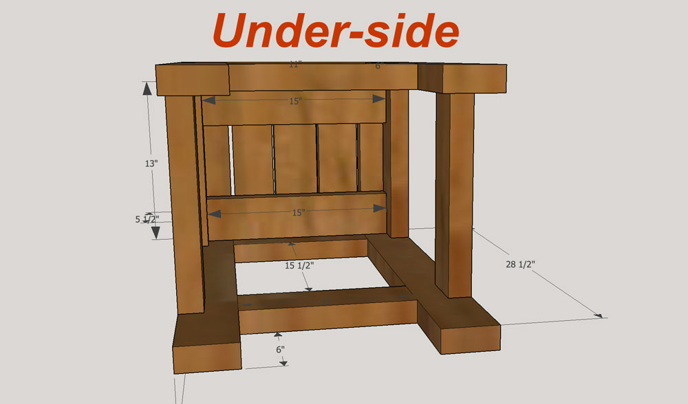 How to make bar stools for 2x4 stool plans