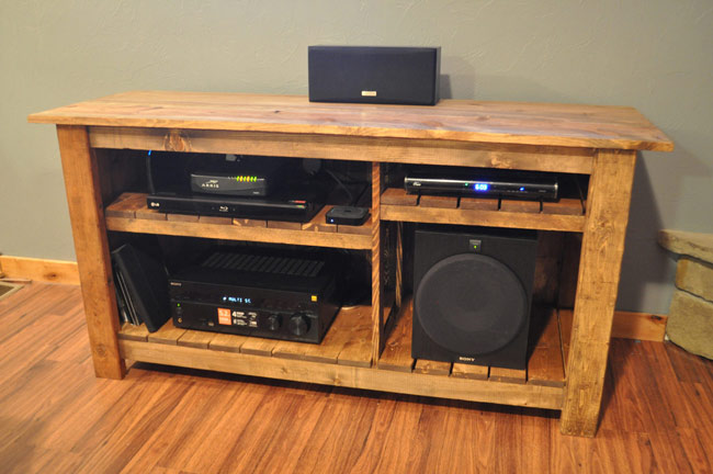 DIY home Entertainment Center Ideas