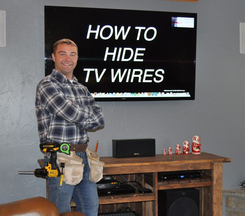 How To Hide TV Wires