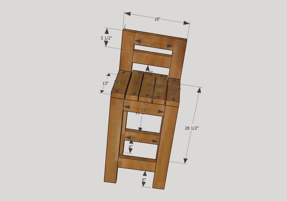 Free Bar Stool Plans  sc 1 st  DIY Pete : wood bar stools with arms - islam-shia.org
