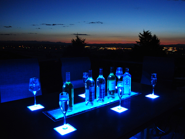 LED CONCRETE TABLE