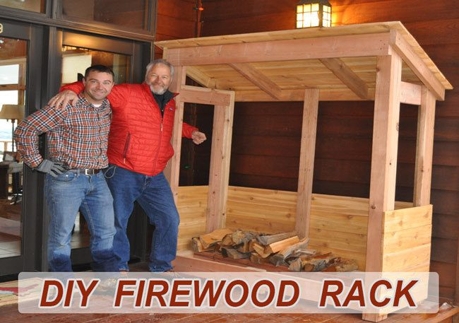 Plans to Build a Firewood Shed