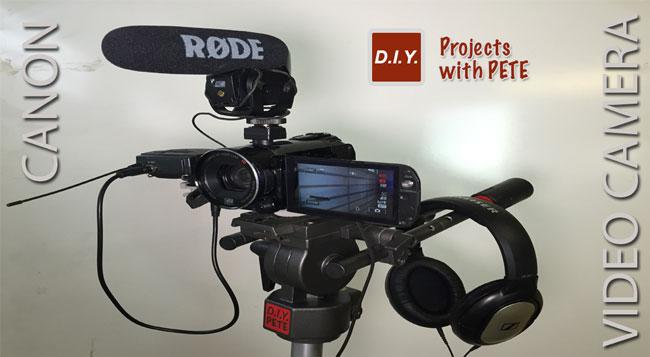 DIY PETE Video Camera